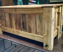 Wooden Toy Chest Instructions by Pallet Wood Toy Box 13 Steps With Pictures