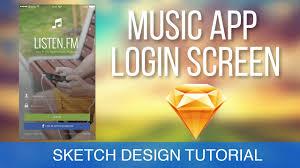 sketch 3 tutorial u2022 login screen design ios u2022tutorial u0026 design
