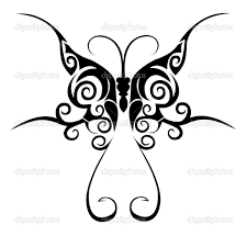 butterfly tribal designs 3411 tribal