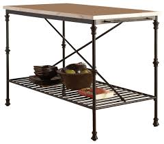 marble top kitchen island cart kitchen carts island with faux marble top traditional intended for