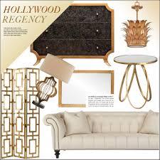 Hollywood Regency Hollywood Regency Living Polyvore