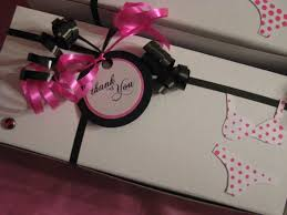 swanky blog lingerie shower awesome diy favor idea