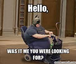 Meme Chair - chair fat batman