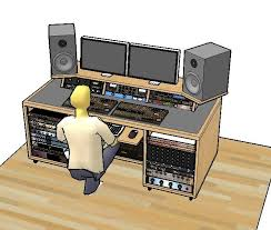 Diy Studio Desk Woodworking Recording Desk Plans Pdf Recording Desk Plans