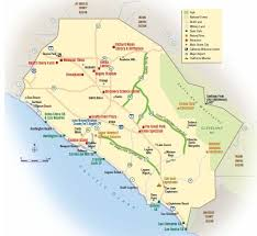 mexico toll road map map of the 73 133 241 and 261 toll roads in orange county view