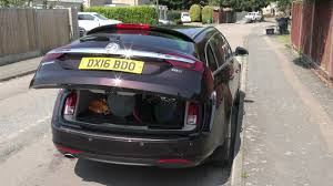 opel insignia wagon trunk electric tailgate on a vauxhall insignia youtube