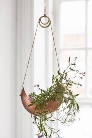 hanging metal planter urban outfitters