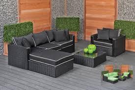Wicker Garden Sofa Set Frascati - Rattan furniture set
