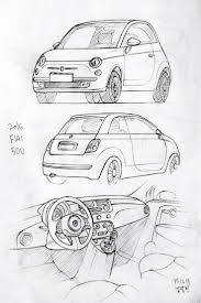 cars drawings model sketch drawing with car 25 best ideas about car