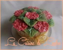 cuisine de loulou gâteau bouquet d hortensias la cuisine de loulou