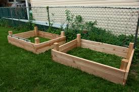 Diy Planter Box by Raised Planter Boxes Plans Photo Albums How To Build A U Shaped
