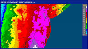rainfall totals map usgs jersey summary of august 27 30 2011 flooding in jersey