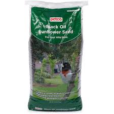 petco black oil sunflower seed wild bird food petco