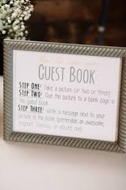 sign in book for wedding guest book template