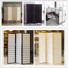 qoo10 folding screen room divider office partition widest