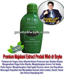 Sabun Wish kewanitaan yang aman rekomendasi dokter boyke