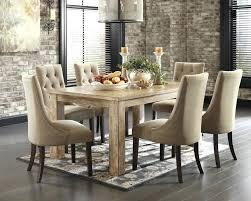 bobs furniture round dining table 7 piece round dining set bis eg