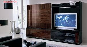 wall mountedent unit open plan home interior design ideas wood