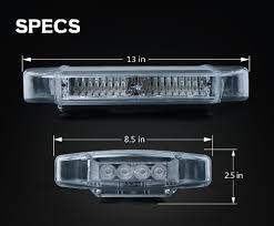 emergency light laws by state magnetic warning light led motorcycle lights united states