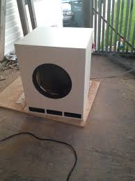 building a subwoofer box for home theater first ht diy subwoofer for a noob on a budget page 10 home
