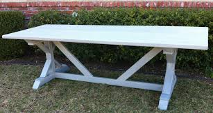 my new outdoor dining table build easy d i y plans cost appx 130