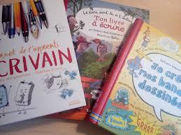 3 cahiers dapprentis écrivains pour faire écrire les enfants avec