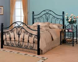 wrought iron beds for a wonderful mediterranean flair in the