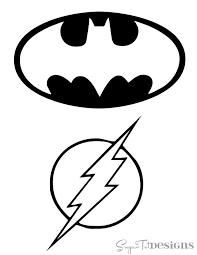 printable superman logo coloring superman batman