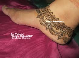 henna ankle art 25 best designs by km henna artistry com images