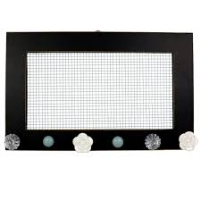 Sheffield Home Decorative Chalkboard by Sheffield Home Jewelry Wire Board With Knobs