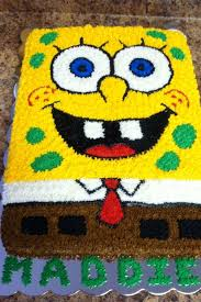 spongebob cake ideas spongebob cake best 25 spongebob birthday cakes ideas on