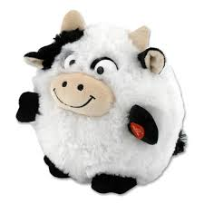 wholesale bulk dropshipper puffster cow stuffed animal