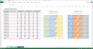 Excel Survey Data Analysis Template Market Research Templates 10 Word 2 Excel