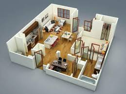 Home Design Software Download Free Trial 3d House Floor Plan Vill Plan3d Free Trial Studio Apartment