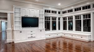 Inbuilt Tv Cabinets Furniture 20 Mesmerizing Images White Built In Bookcase White