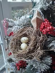 decorating a flocked tree diy beautify