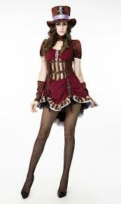 women u0027s steampunk burlesque halloween costume n10612