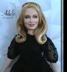 adele doll cyguy famous celebrities barbie doll