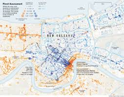 City Map Of New Orleans by From The Graphics Archive Mapping Katrina And Its Aftermath The