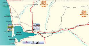 Sequim Washington Map by South Olympic Peninsula Map Grays Harbor