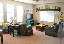 Family Room Decor Striking Small Family Room Decorating Ideas With White Sofa And