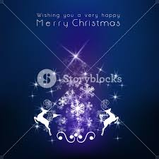 stylish poster merry christmas snowflakes royalty free
