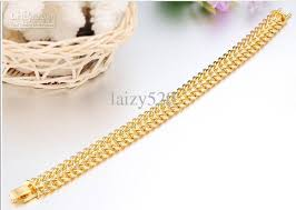 simple gold bracelet jewelry images 2018 south korea fashionable electroplating 18 k gold jewelry jpg
