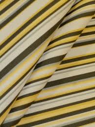 market stripe herringbone weave railroaded black yellow gray and