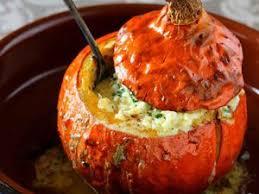 cuisine potimarron potimarrons farcis au quinoa recette sur cuisine actuelle