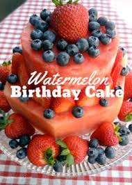 Watermelon Cake Decorating Ideas Mouth Watering Pics To Put You In A Good Food Mood Fruit Cakes