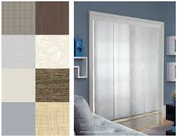 Patio Door Sliding Panels Glamorous Sliding Door Vertical Blinds Buying Guide For And Caring