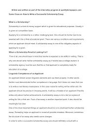 writing essay for scholarship write essays for scholarships custom