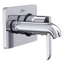 designer bathroom accessories product delma 1010 wall mounted basin mixer flitz designer