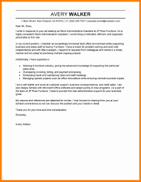 7 sample admin assistant cover letter bolttor que chart